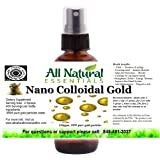 True Pure Nano Colloidal Gold 2oz bottle 100ppm kosher certified all natural