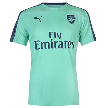 Official Puma Arsenal Stadium Jersey 2018 2019 Mens Football Soccer Fan  Shirt Top Tee Green Small 781c2a91c