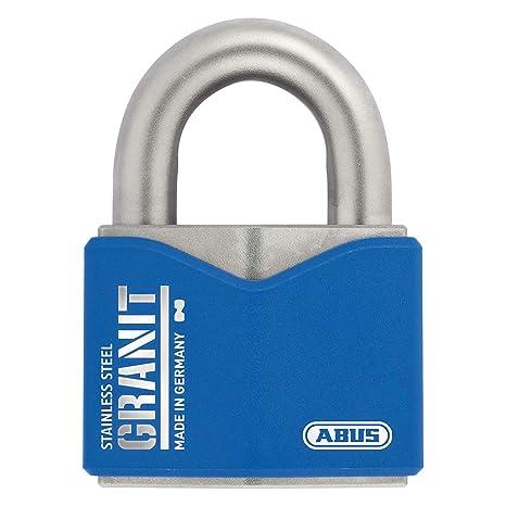 Amazon.com: ABUS 79187 37ST/55 - Candado granito (acero ...