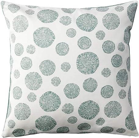 "100/% Cotton 2 x IKEA Cushion coverSVARTHO 50 x 50 cm 20 x 20/"""
