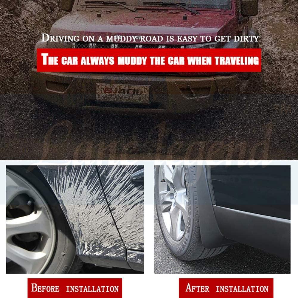 TDPQR 4 St/üCk Auto Kunststoff Kotfl/üGel f/ür Ford Focus 3 MK3 Hatchback 2011-2018 Schutz Mudguard Mit Befestigungsschrauben Kit Car Spritzschutz Spritzschutz Vorne Hinten Schmutzf/äNger