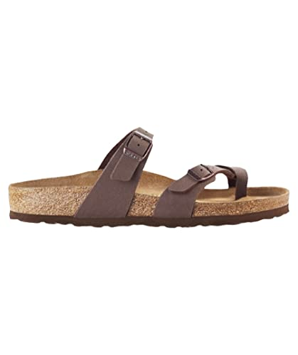 653fb906de70 Image Unavailable. Image not available for. Color  Birkenstock Women´s  Mayari Mocca Birkibuc Sandals ...