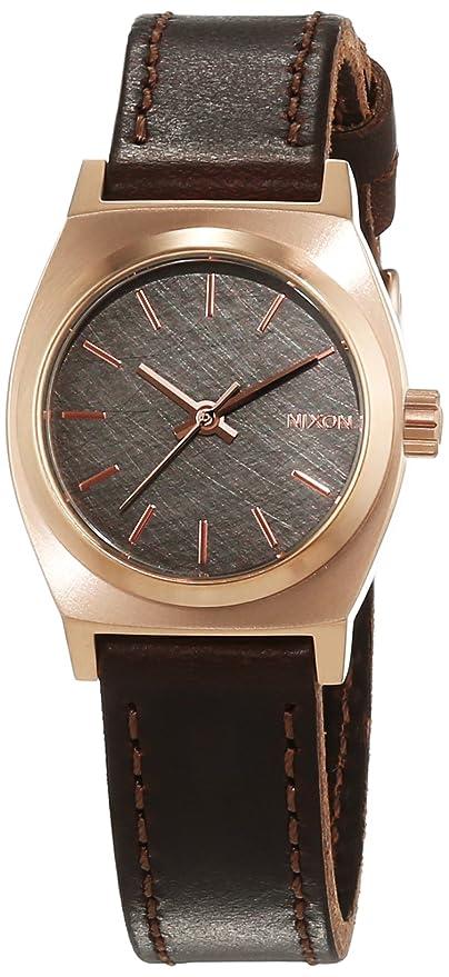Nixon A5092001-00 - Reloj de pulsera Mujer, Cuero, color Marrón