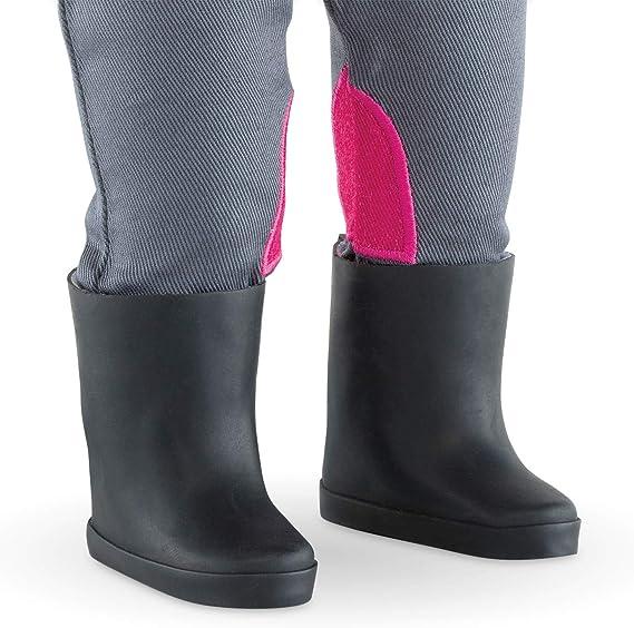 Ma Corolle Knee High Black Boots 36cm