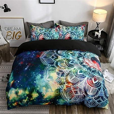 Parure De Lit 3d Galaxy Univers Ciel étoilé étoiles Lunaire