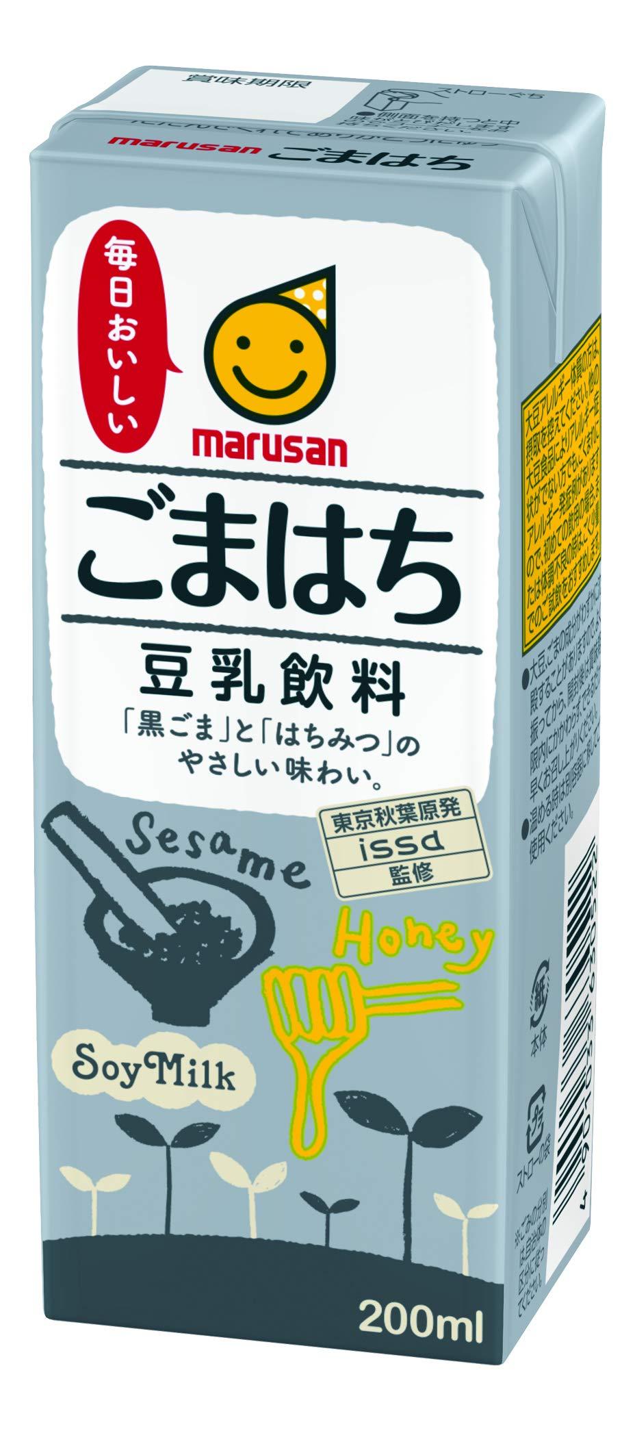 Soymilk drink Gomahachi 200mlx24 by Marusanai (Image #1)
