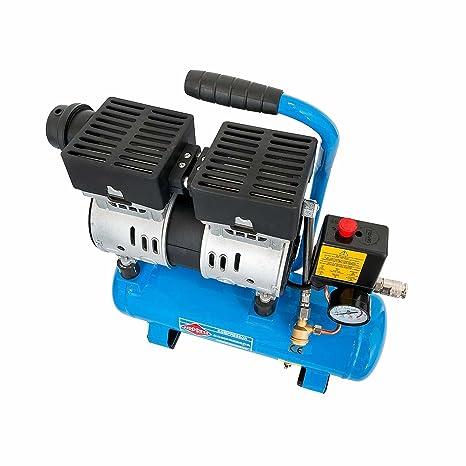 Compresor Silent 0,6 PS 6 litros L6 – 105 tipo 36738: Amazon.es: Bricolaje y herramientas