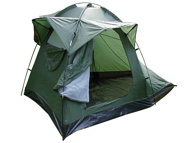 VIZ-UK WEAR Olive Drab Fischer-Zelt, für Camping, Festival, Outdoor, Nylon, für 2 Männer