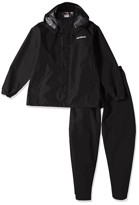 (コウシンゴム)kohshin rubber(コウシンゴム) 全天候型3層構造スーツ モトラス(男女兼用) 67596 B011AQWABO 日本 S-(日本サイズS相当)|ブラック ブラック 日本 S-(日本サイズS相当)