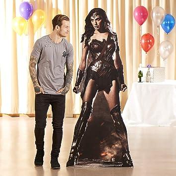 8e169ffe175 DC COMICS Wonder Woman (Gal Gadot) Life Size Cardboard Cut Out ...