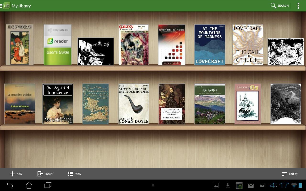 for aldiko book pc reader