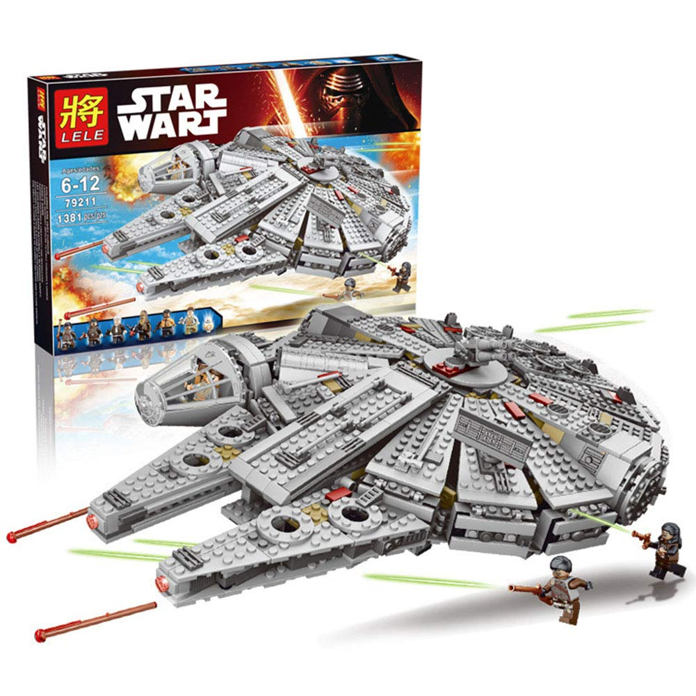 LOGOOO DIY Planet Battle Set, Kinder Puzzle Assembled Baustein Spielzeug ABS Material Geeignet für 7-14 Jahre