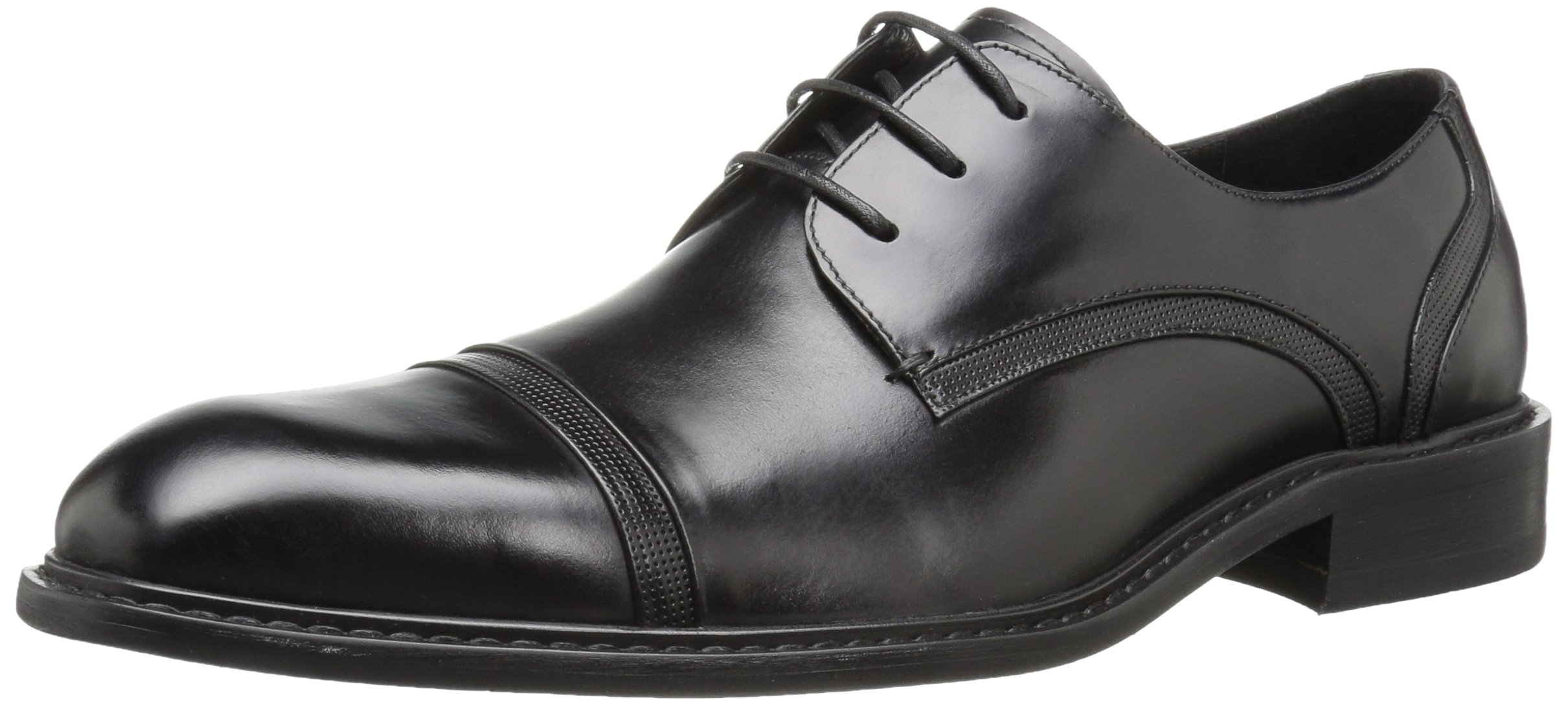 Kenneth Cole New York Men's Re-Leave-d Oxford, Black, 9.5 M US