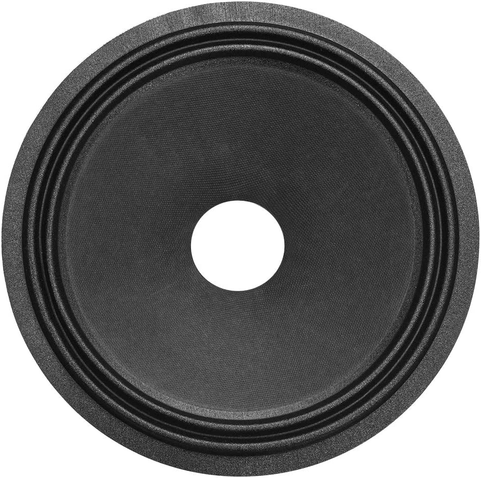 uxcell 10 inches Paper Speaker Cone Woofer Drum Dot Paper 2 inches Coil Diameter with 2 Cloth Surround