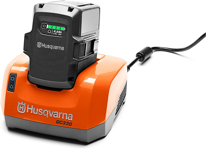 Husqvarna 967091401 Chargeur Rapide QC330