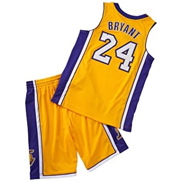 8429b6c29a27 adidas Los Angeles Lakers Bryant Kit Youth, 176: Amazon.co.uk: Sports &  Outdoors