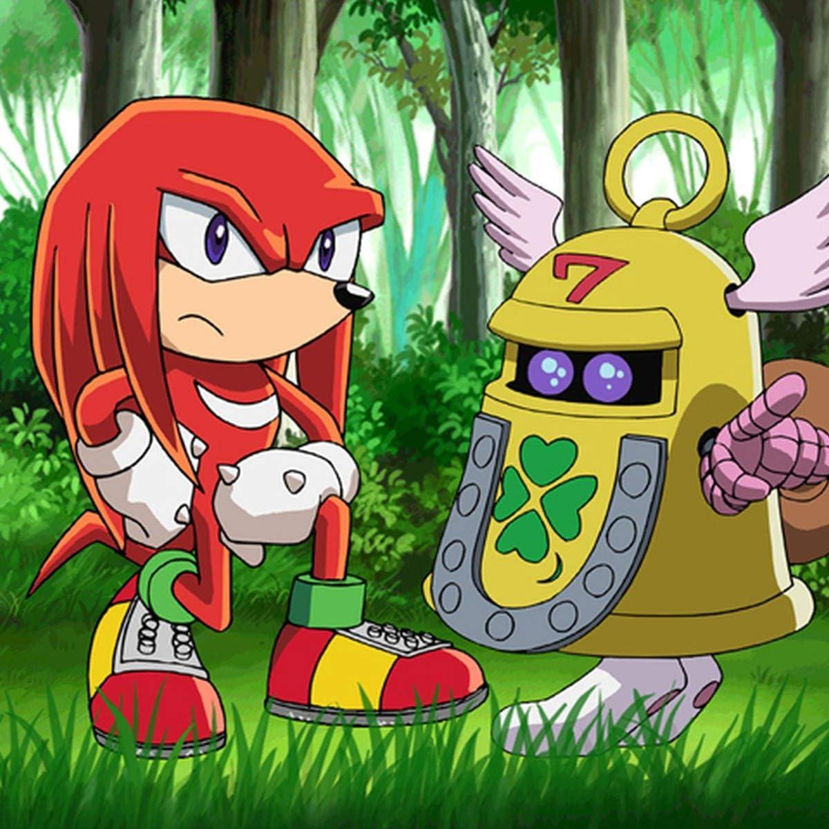 ソニック ザ ヘッジホッグ Sonic The Hedgehog Ipad壁紙 ナックルズ