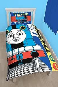 Thomas The Engine 'Team' Single Duvet Set - Large Print Design