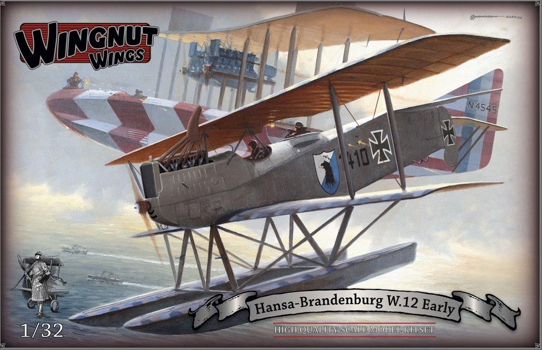 Wingnut Wings Flügelmutter Flügel Flügelmutter wings32036 Maßstab  1  32  Hansa-Brandenburg W.12 Early Model Kit Sets
