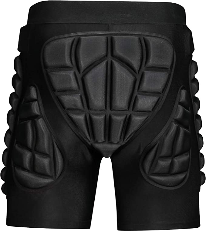 OHMOTOR 3D Padded Protective Shorts
