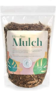 Urban Thumb & Co Ultra Fine Garden Plant Mulch - Top Cover for Indoor / Outdoor Potted House Plants - Compact Size, Potting Mix for Urban Plant Lovers- 3.25 Quarts