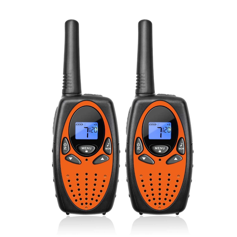 ext/érieur Talkie walkie pour Enfants 2-Way Radio bidirectionnelles Paquet de 8 Cha/îne Longue port/ée 3 kilom/ètres comme Interphone Jouet pour Enfant