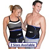 WeightLoss-Solutions Premium Waist Trimmer Sauna Belts to Burn Belly Fat and get a Slimmer Waistline. Waist Slimming Ab Belt for Men and Women.