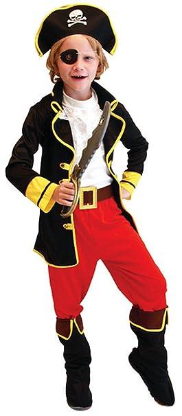 Amazon.com: Niños Capitán Pirata Role Play niños piratas ...