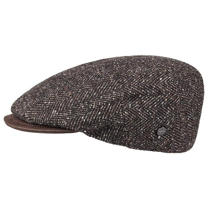 Lierys Gorra Herringbone Tweed by Hombre | Made in Italy Gorro con Visera Ivy de Invierno Visera, Forro otoño/Invierno: Amazon.es: Ropa y accesorios