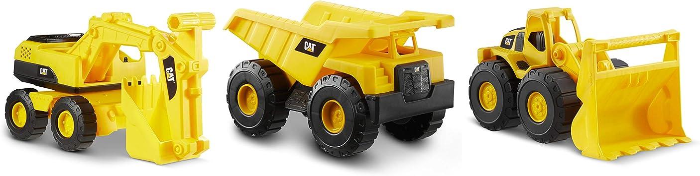 Caterpillar 82284 Vehículos de construcción, Cat Mini Crew 3 Pack ...
