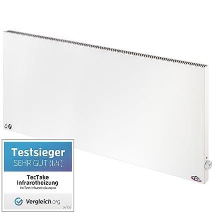 TecTake - Paneles calefactores por infrarrojos (1400 W ...