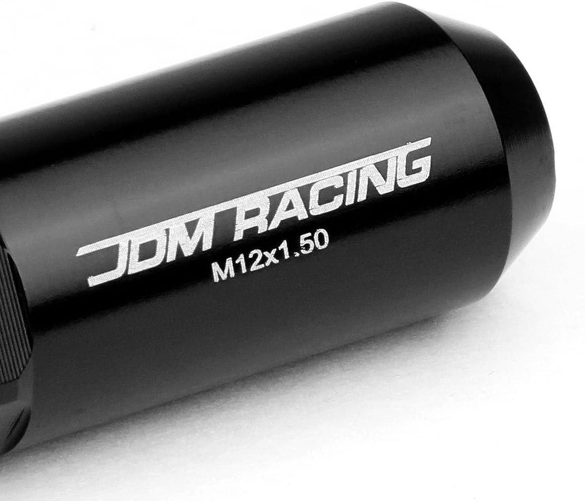 M12 x 1.5 Open//Closed End Design 20-Piece Aluminum Alloy Wheel Lug Nuts Pink 1 X Deep Drive Extension