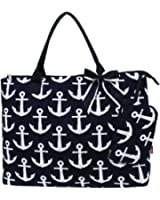 Sport Themed Prints NGIL Quited Overnight Tote Bag