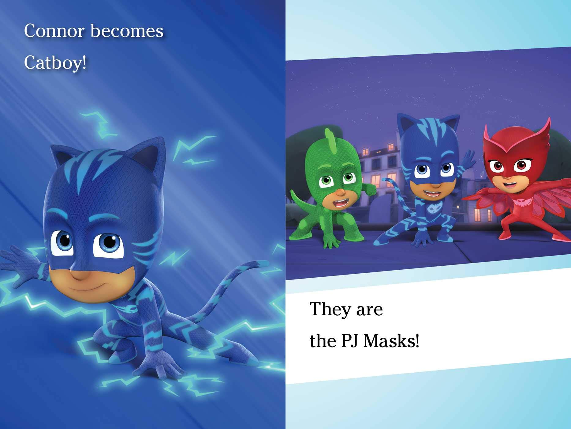 Power Up, PJ Masks!: Ready-To-Read Level 1 : Finnegan ...