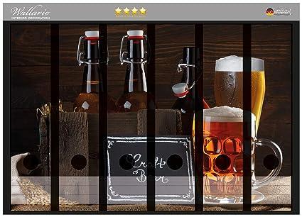Archivador de la parte de la espalda de pegatinas de cerveza de modelos - Jarras de