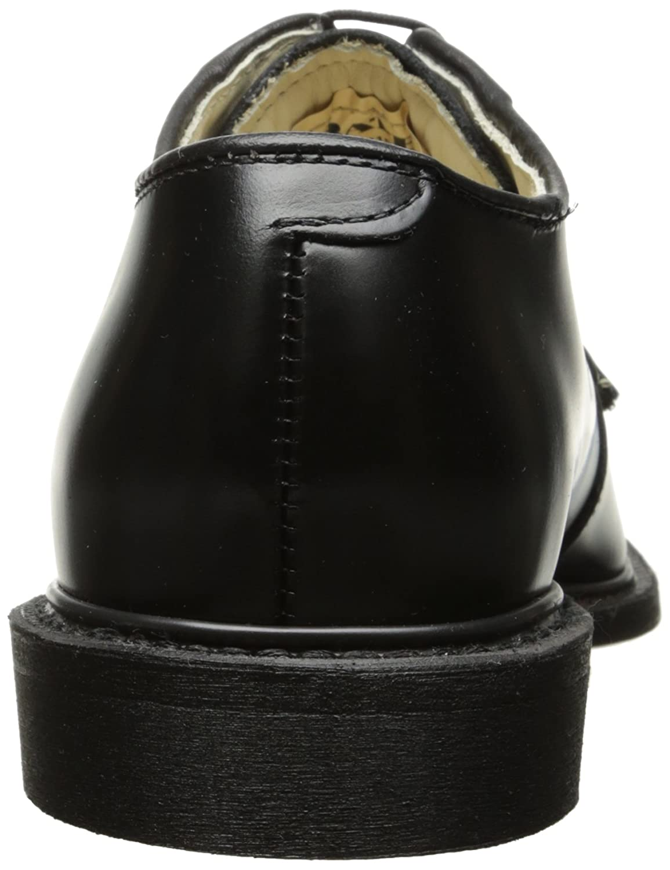 Bates Mens Navy Premier Oxford Uniform Dress Shoe