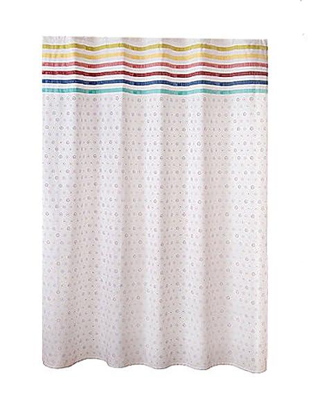 Fiesta Baja Fabric Shower Curtain