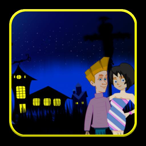 Halloween Kiss Game