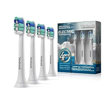 Virabrush - Cabezales de repuesto para cepillo de dientes eléctrico ...