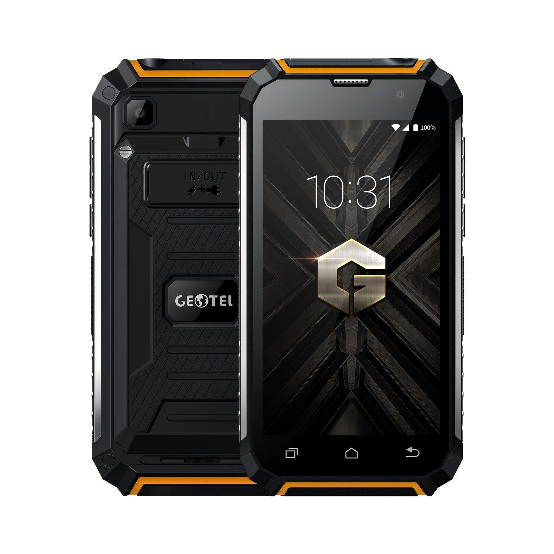 """GEOTEL G1 - 5,0"""" 3G Smartphone, Android 7.0 Quad Core 2GB+16GB, 7500mAh Función de Banco de Energía, Cámara 8MP+2MP, Doble SIM Teléfono Móvil 0"""" 3G Smartphone DJ-GT-G1-Black"""