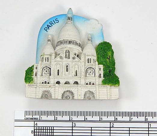 Imanes de nevera recuerdos Sacre Coeur París Francia hecho a mano ...