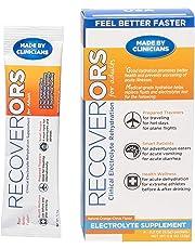 RecoverORS Recovery Electrolytes Rehydration Powder | Alivia los efectos de la Deshidratación y Diarrea. |