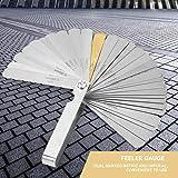32 Blades Feeler Gauge Stainless Steel Metric