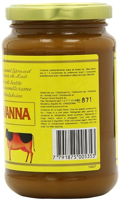 Havanna Dulce de Leche - 2 Paquetes de 1 x 450 gr - Total: 900 gr: Amazon.es: Alimentación y bebidas