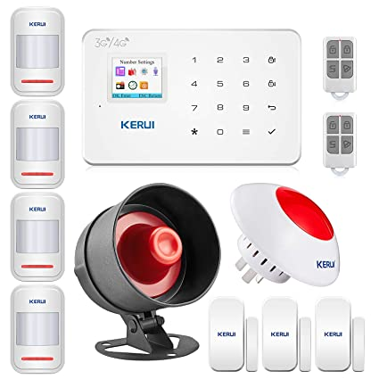 Amazon com : G183 LCD Touch Keypad Wireless 3G Home Office Burglar