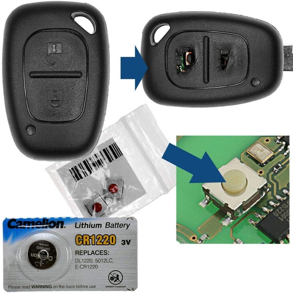 Repair Reparatur Satz Gehäuse Funkschlüssel Elektronik