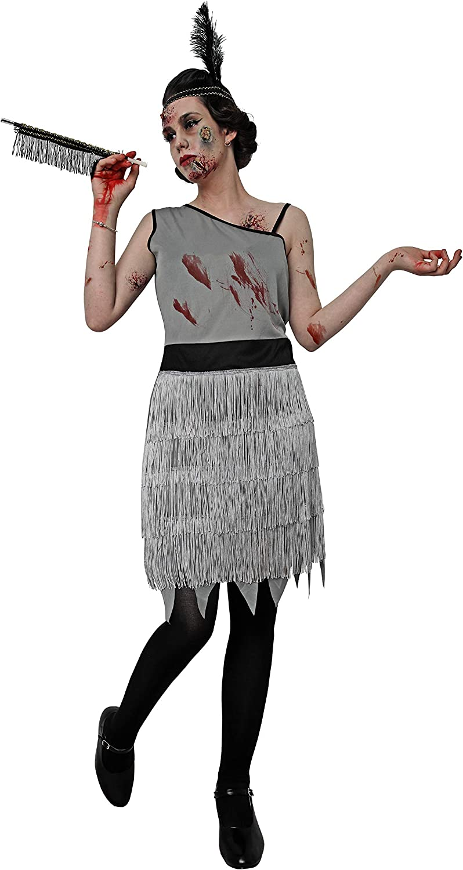 Costumizate! Disfraz de Charleston Zombie para Mujer Adulta Talla ...