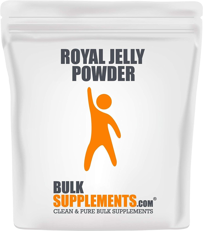 BulkSupplements.com Royal Jelly Powder - Royal Honey - Bee Supplement (100 Grams - 3.5 oz - 100 Servings)