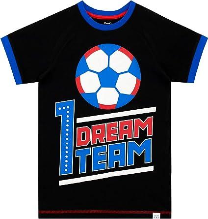 Harry Bear Camiseta de Manga Corta para niños Fútbol: Amazon.es: Ropa y accesorios