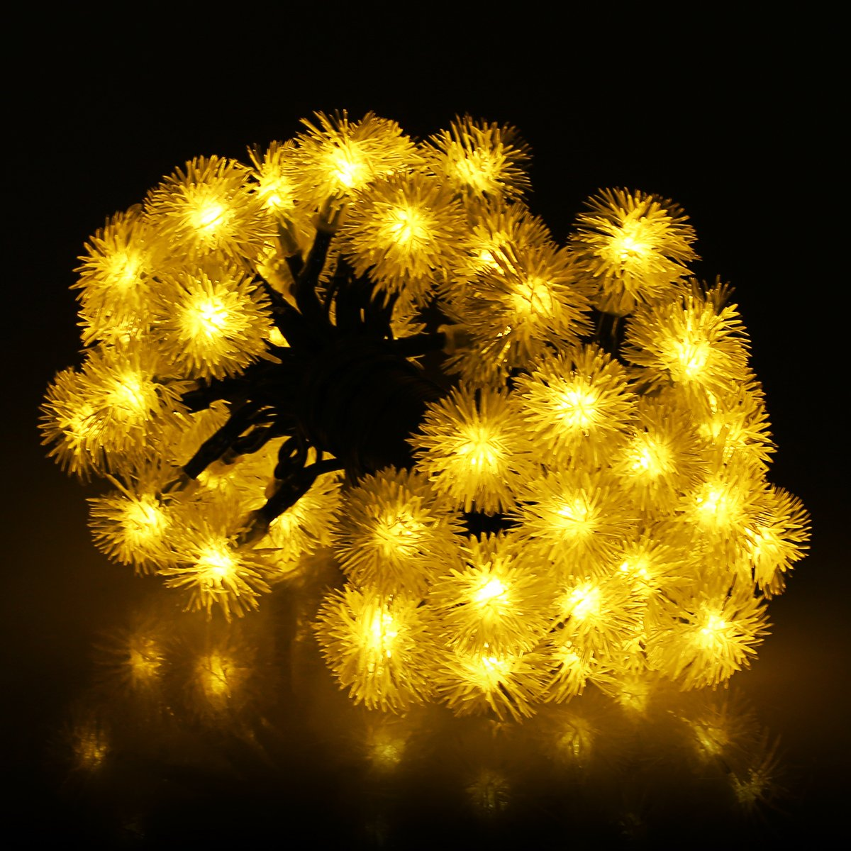 Cadena de luces LED m VicTsing Luces LED forma de bolas Con